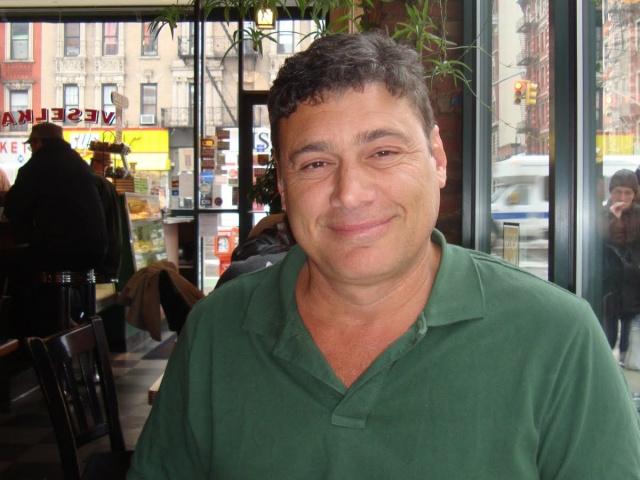 Steven Bauer at Veselka in NYC in April 2011. (Photo/Kristina Puga)