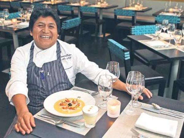 Victoriano López, executive chef of La Mar Cebicheria Peruana (Photo/Kristina Puga)