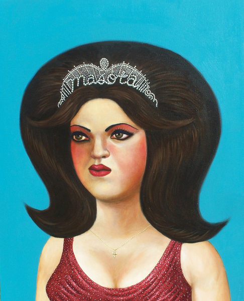 """La Reina de las Mascotas"" by Ricardo Ruiz (Thomas Paul Fine Gallery)"
