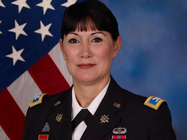 Colonel Irene Zoppi (Courtesy U.S. Army)