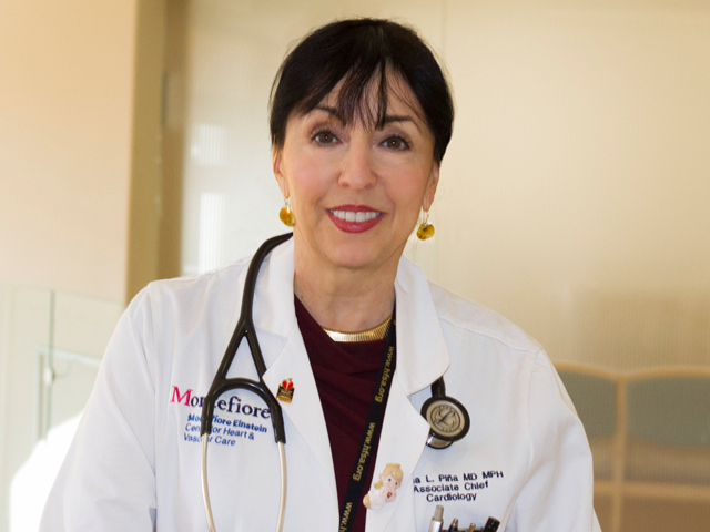 Dr. Ileana Piña (Courtesy Montefiore Medical Center)