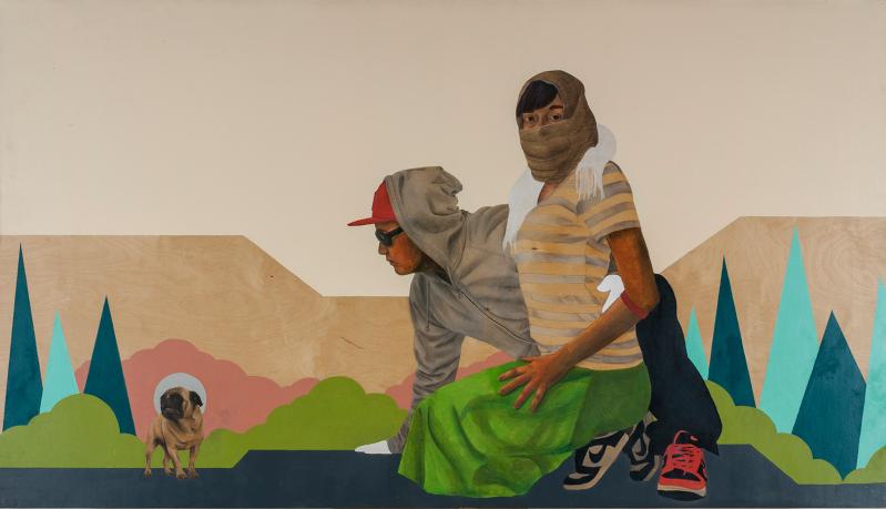 """""""Tierra Nueva"""" by Carlos Donjuan (Thomas Paul Fine Gallery)"""