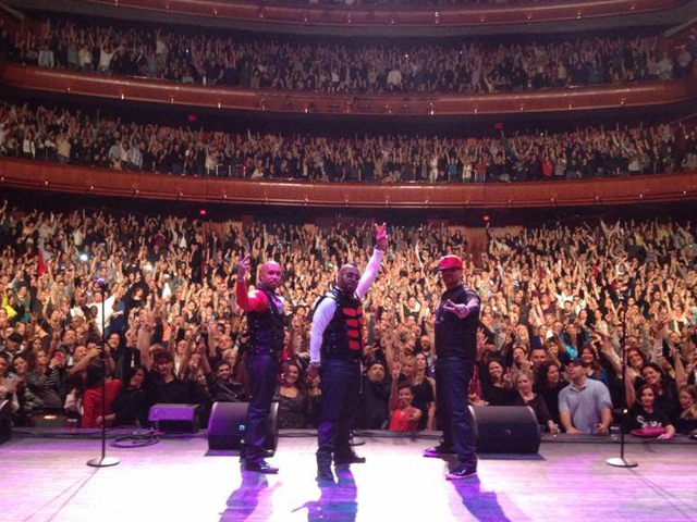 TKA performing at the soldout New Jersey Performing Arts Center on November 23, 2013. (Courtesy Kay Seven TKA Facebook)