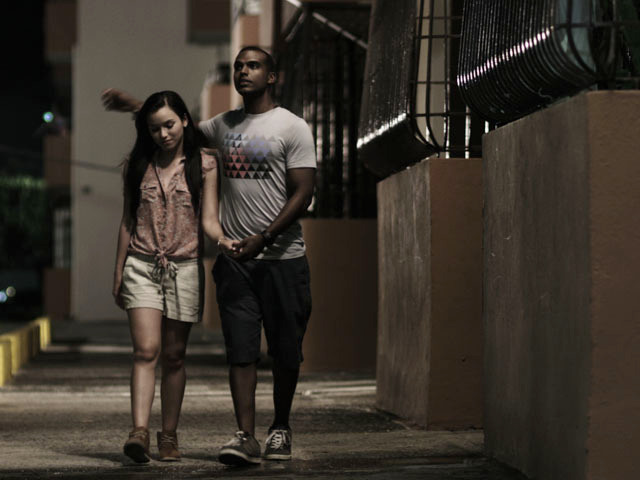 "Anoushka Medina and Xavier Morales, protagonists in ""For Love in the Caserío."" (Courtesy Cine-Coop)"