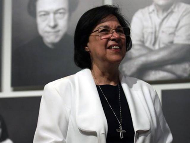 Sister Consuelo Morales (Photo/Victor Hugo Valdivia)